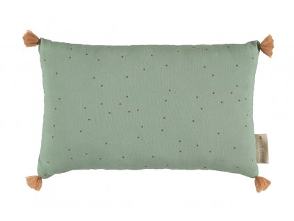 sublim cushion cojin coussin toffee sweet dots eden green nobodinoz 1