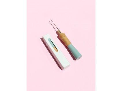 pom maker felting needle sage green web