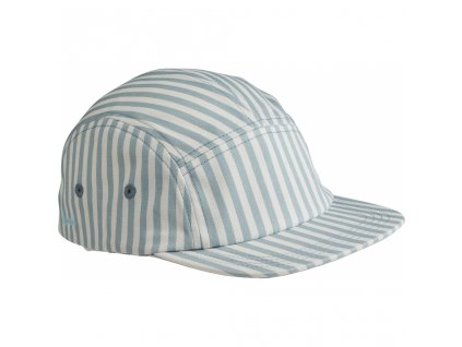 LW12841 0936 Stripe Sea blue white Main