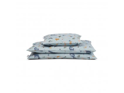 Carmen Bed Linen Baby Bedding LW12345 6910 Sea creature mix 1