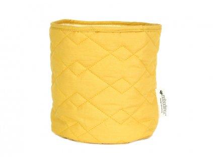 basket samba farniente yellow nobodinoz 1