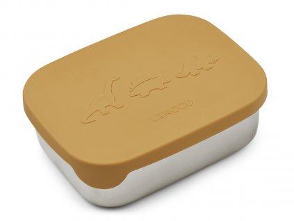 LW12981 Arthur lunchbox 2913 Dino yellow mellow Extra 0