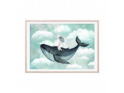 Poster Sky full of dreams 50x70