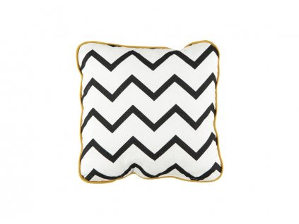 cushion joe cojin coussin zig zag black nobodinoz 1