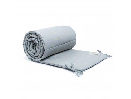 Nest cot bumper willow soft blue nobodinoz 1 8435574919502