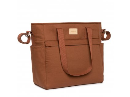 Baby on the go waterproof changing bag clay brown nobodinoz 12 8435574920102
