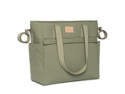 Baby on the go waterproof changing bag olive green nobodinoz 11 8435574920119