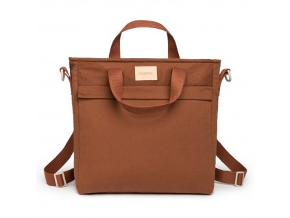 Baby on the go changing backpack clay brown nobodinoz 1 8435574920133