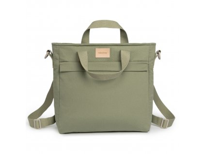 Baby on the go changing backpack olive green nobodinoz 1 8435574920140