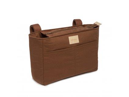 Baby on the go stroller organizer clay brown nobodinoz 1 8435574920164