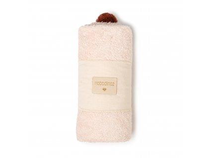 So cute baby bath cape pink nobodinoz 5 2000000107790