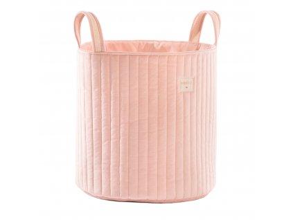 Savanna velvet toy bag bloom pink nobodinoz 1 2000000113319
