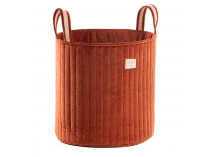 Savanna velvet toy bag wild brown nobodinoz 1 2000000113326