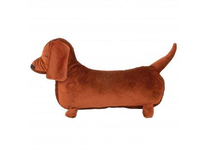 Billie dog cushion wild brown nobodinoz 1 8435574921253