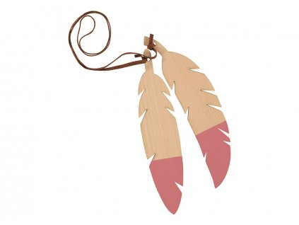 feathers duo pink nobodinoz 1