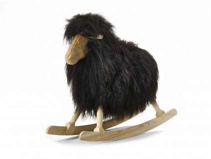 Black long wool, 110211