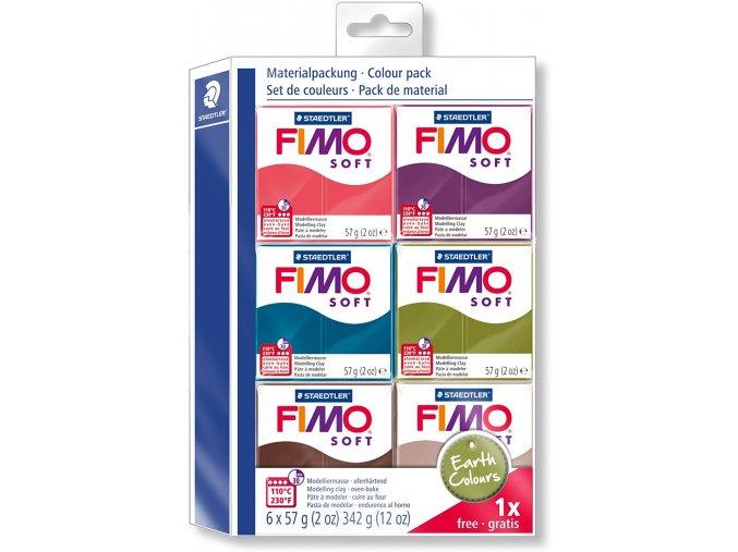 FIMO SOFT EARTH COLOURS