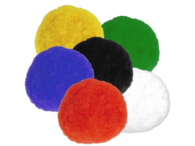 Pompons 20mm barevný mix