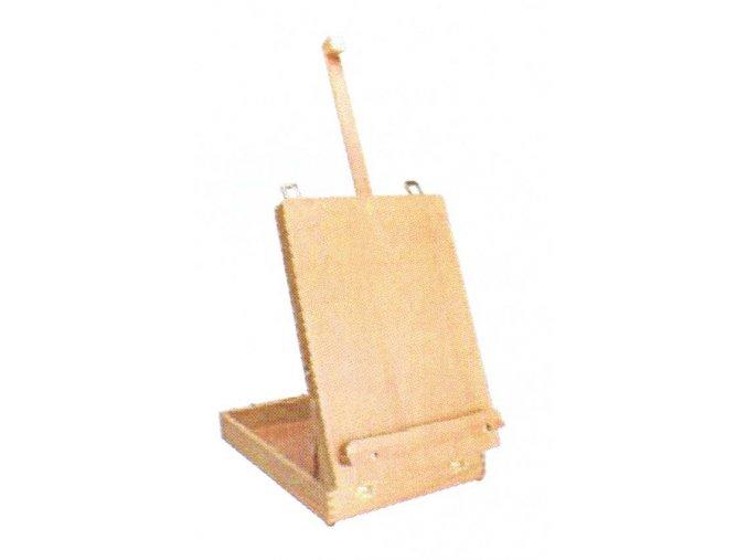Malířský stojan kufr stolní (posuv matice)