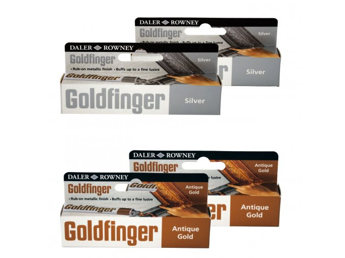 Goldfinger Antique Gold and Silver