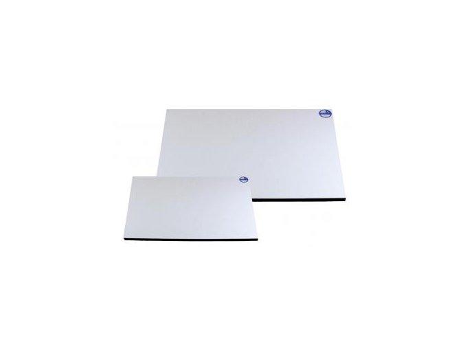 Rýsovací deska 70 x 100 cm - bílé lamino