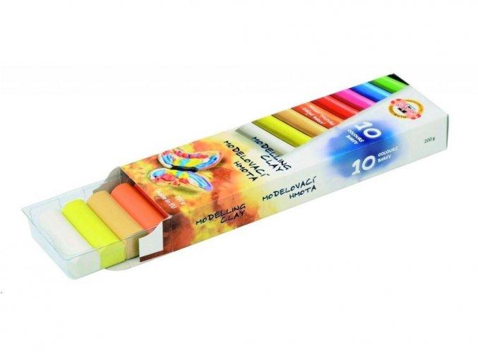 Modelovací hmota - modelína 10 barev Koh-i-noor