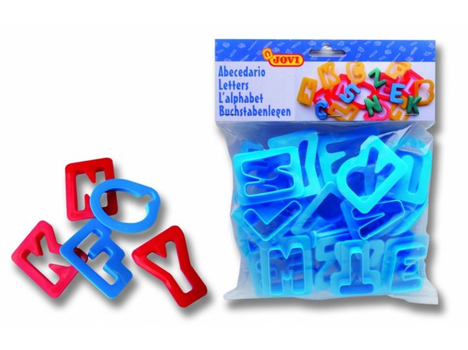 Tvořítka abeceda - Jovi