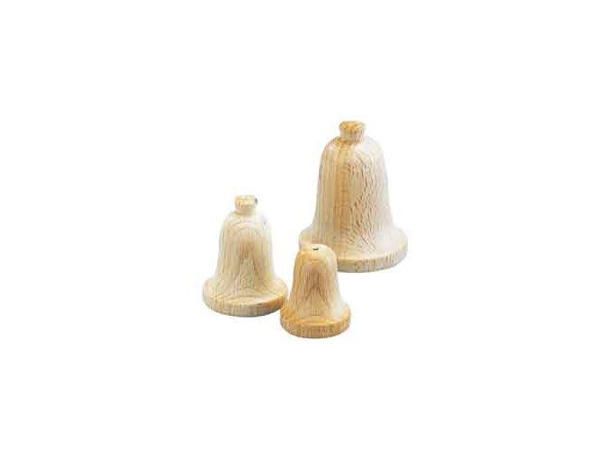 Zvoneček dřevěný 30x40 mm