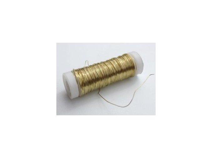 Mosazný drát 0,5mm x 30m