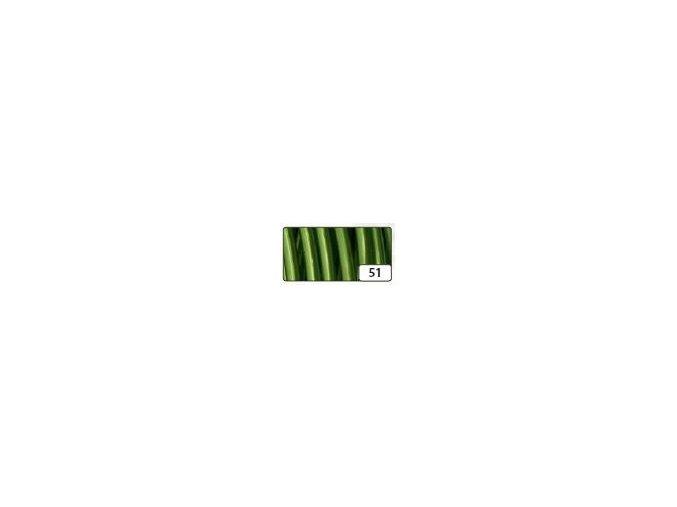 Hliníkový dekorativní drát 2mm x 5m - zelený