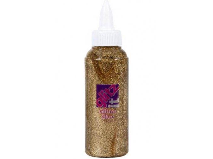 Glittrové lepidlo 120 ml. - 203 zlatá