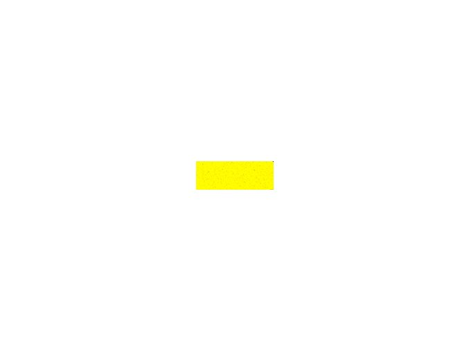 Mechová guma 2mm , 20 x 29cm - žlutá citronová