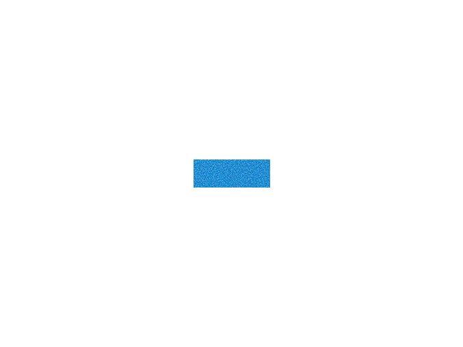 Mechová guma 2mm , 20 x 29cm - modrá světlá