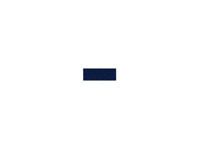 Mechová guma 2mm , 20 x 29cm - modrá tmavá