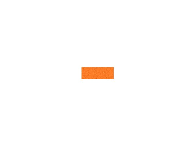 Mechová guma 2mm , 20 x 29cm - oranžová