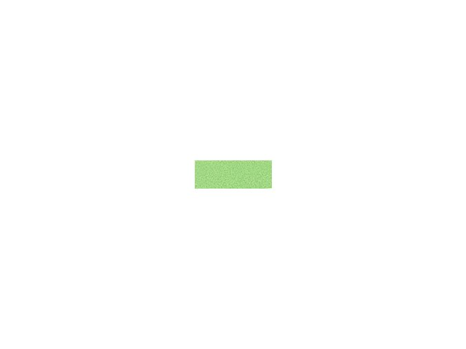 Mechová guma 2mm , 20 x 29cm - zelená světlá
