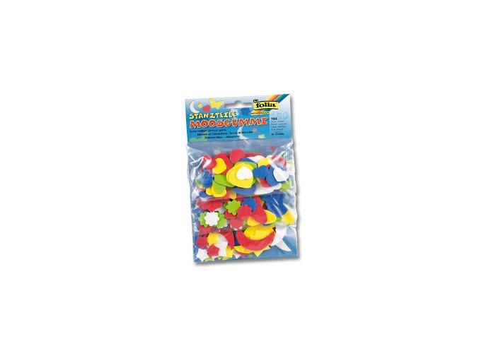 Mechová guma výseky  - mix.tvarů , 150ks