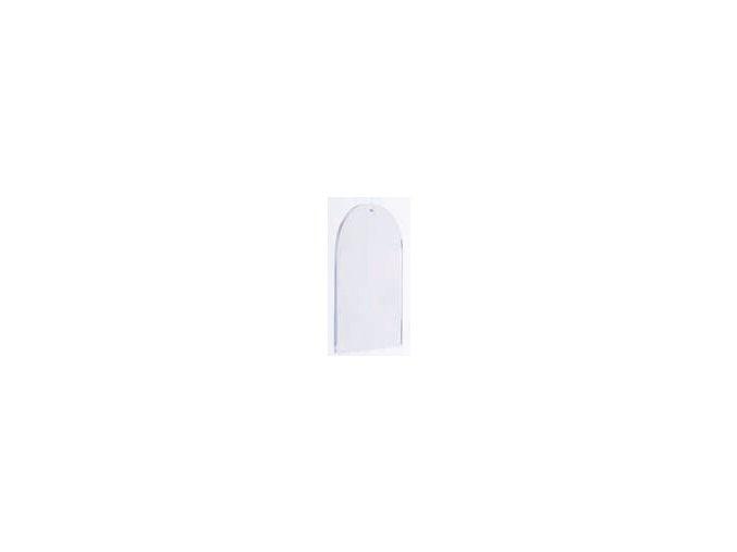 Plastový závěs plochý - okno 9cm