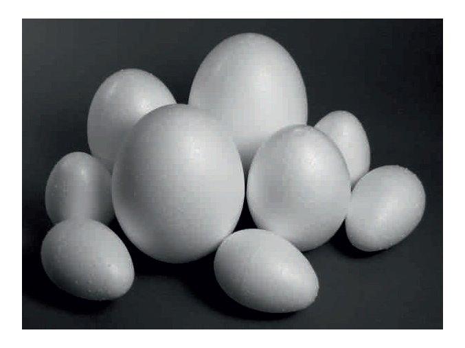 Polystyrenové vejce - 10cm
