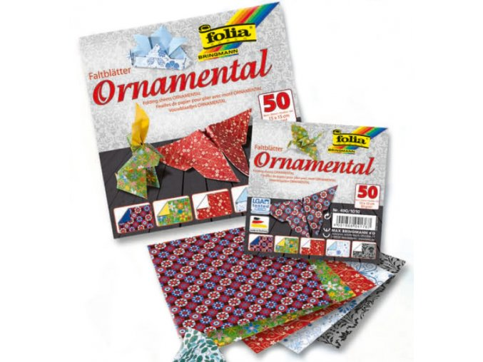 Origami papír ORNAMENTAL 80g - 20x20cm