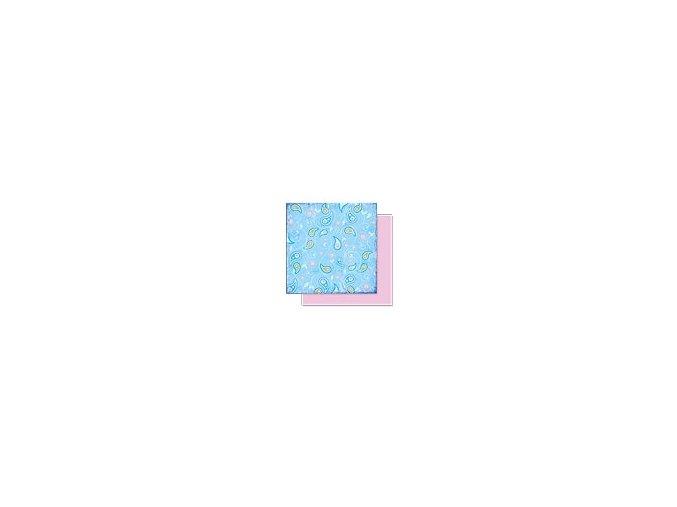 Scrapbooking papír Květinový 30 x 30cm/190g - Motiv 04