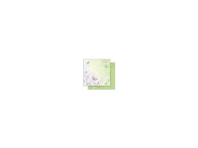 Scrapbooking papír Květinový 30 x 30cm/190g - Motiv 05