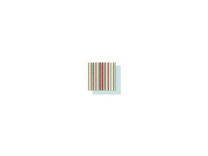 Scrapbooking papír Vánoční 30 x 30cm/190g - Motiv 03