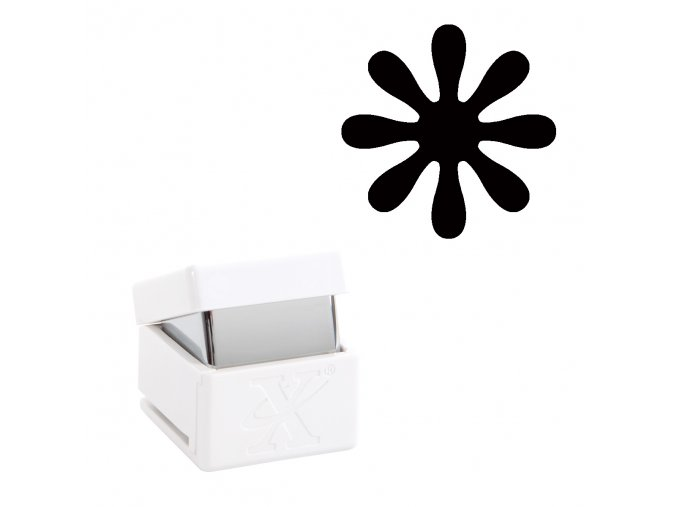 Děrovačka s motivem Xcut - Daisy L 2,7cm
