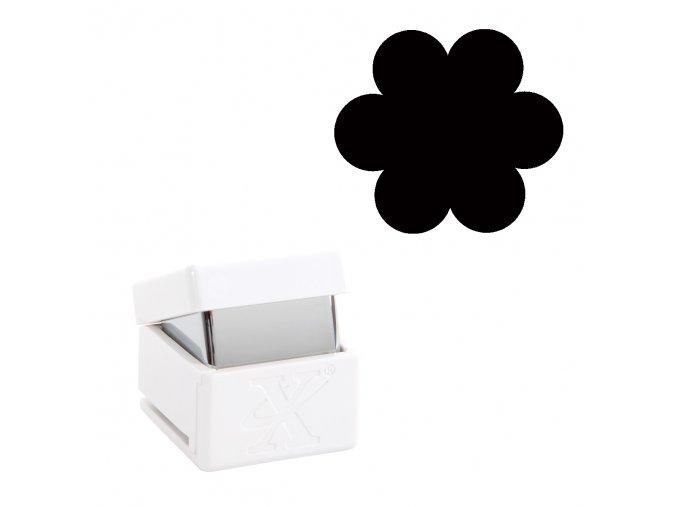 Děrovačka s motivem Xcut - Flower L 2,7cm