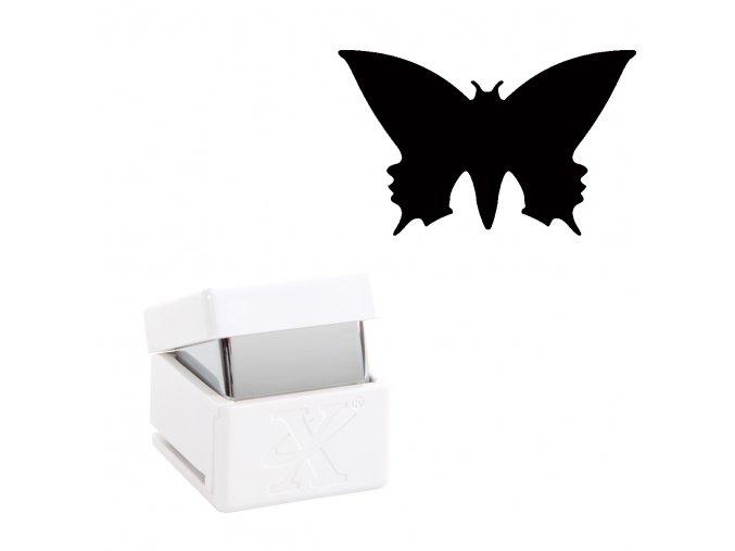 Děrovačka s motivem Xcut - Motýl M 1,7cm