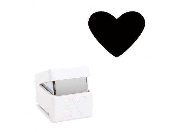 Děrovačka s motivem Xcut - Srdce S 1cm