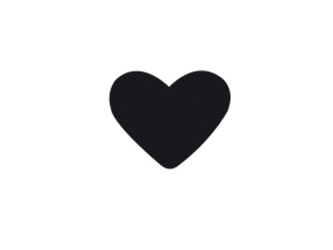 Děrovačka s motivem RICO - Srdce 3,8cm