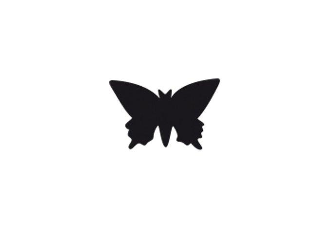 Děrovačka s motivem RICO - Motýl 3,8cm