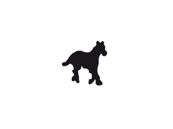 Děrovačka s motivem RICO - Kůň 2,5cm